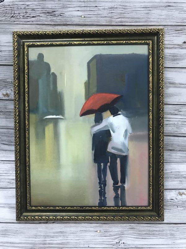 Двое под зонтом, 2017, худ Иван Максимюк