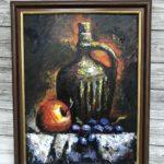 Натюрморт с кувшином и яблоком, 2017, худ Нерсес Ерицян