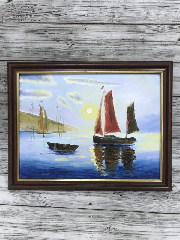 Морской пейзаж, 2017, худ Дарья Михайлова