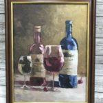 Натюрморт с вином, 2018, худ Кривцов Вячеслав