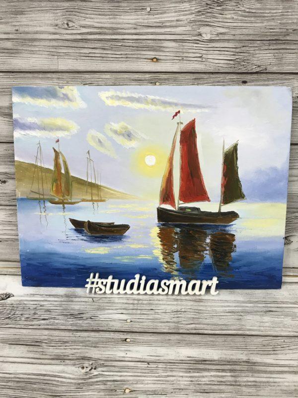 море пейзаж морской ложки закат купить картину москва галерея интерьер подарок
