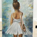 Балерина, 2018г, худ Вера Аверьянова