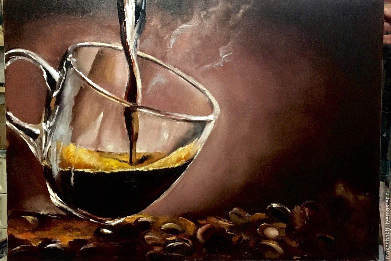 Кофейная, винная, чайная гризайль