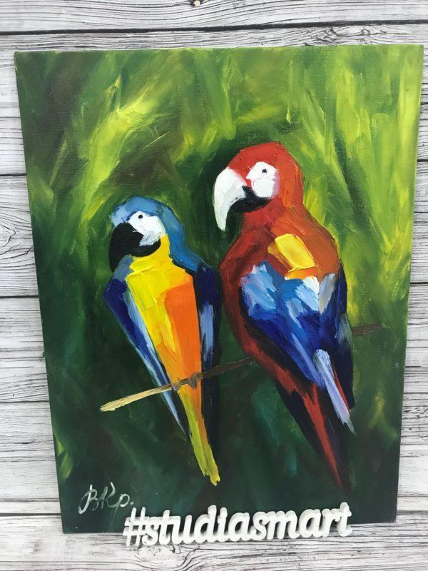 Попугаи, 2019г
