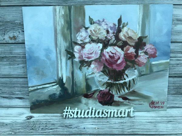 Букет роз, 2019г