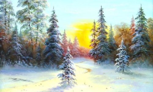 Творческое утро — скидка на занятие по масляной живописи в 11 утра по будням