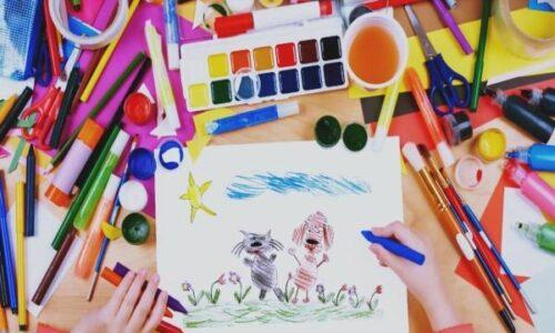 Курс «Основы рисунка» 2 ступень для детей 8-11 лет
