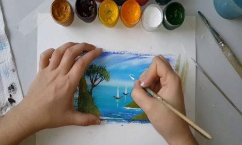Мастер-класс «Правополушарное рисование»