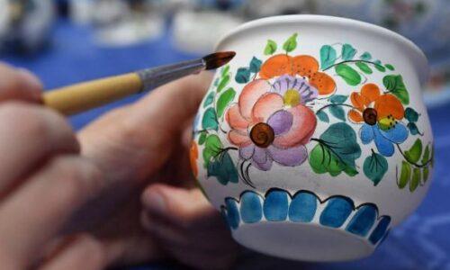 Мастер-класс «Роспись керамических изделий»