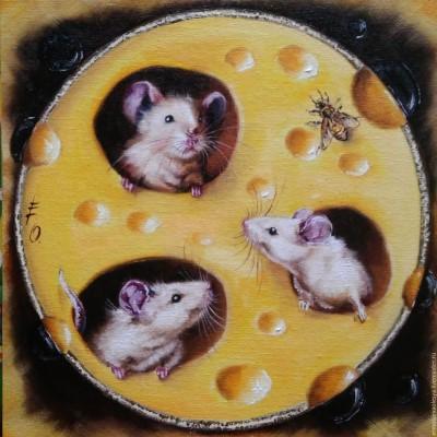 """Арт-вечеринка """"Мышки в сыре"""" (18+)"""