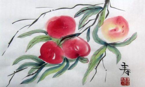 Мастер-класс «Китайская живопись го хуа»