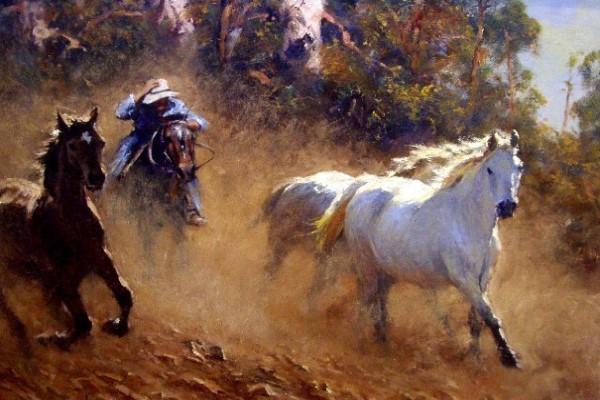 """Арт-вечеринка """"Дикие лошади"""" (18+)"""