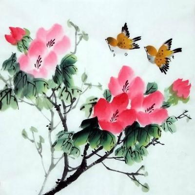 Китайская живопись ГО ХУА свободный стиль СЕ-И