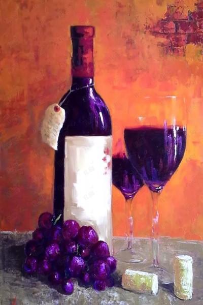 """Мастер-класс масло """"Натюрморт с вином"""" на Мичуринском проспекте"""